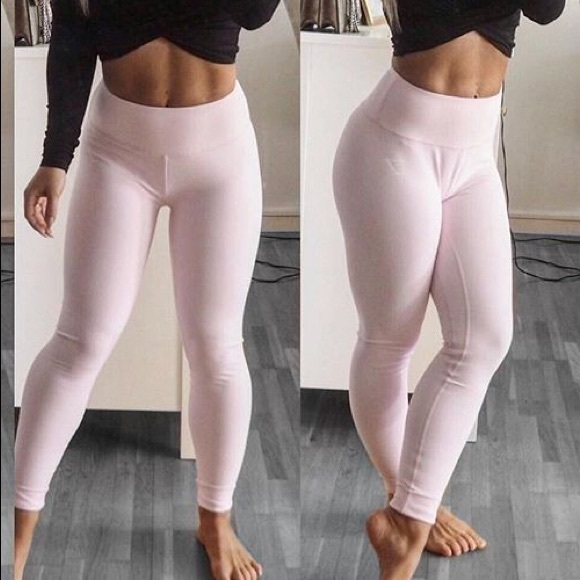 5fa4390b16557 Gymshark Pants | Dreamy Leggings Chalk Pink | Poshmark